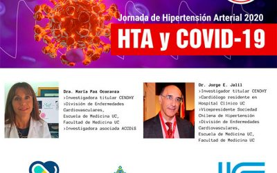 Continuing education to the medical community: CENDHY participated in an online congress of the Chilean Society of Hypertension and SAVAL